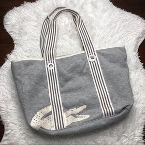 Lacoste Summer Fleece Tote Gray
